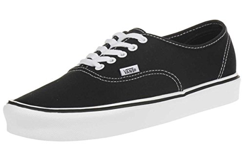 Vans Authentic Lite Plus, Unisex-Erwachsene Sneakers, Schwarz (canvas/black/white), 42 EU