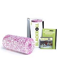 BLACKROLL® MED Faszienrolle - das Original (Härtegrad weich) -  Die softe Selbstmassage-Rolle für die Faszien in verschiedenen Farben + Booklet