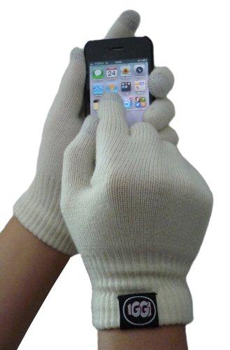 onal IGGI Deluxe Touchscreen-Handschuhe, Schwarz Deluxe Cream ()