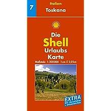 Toskana: 1:200000 (Shell Urlaubskarte Italien)