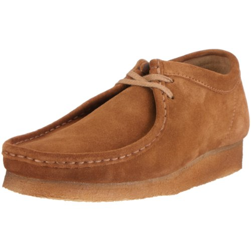 Clarks Originals Wallabee, Chaussures de ville homme, Marron (Cola Suede), 47