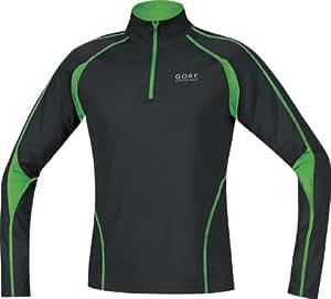 Gore Running Wear Herren Shirt Flash 2.0 Long, black/apple green, S, SFLASA997407