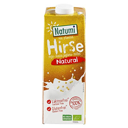 Natumi Hirse Drink natural – Bio – 1L – 12er Pack