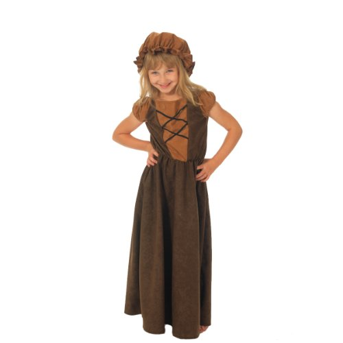 Kostüme Mädchen Pilgrim Girl (Kostüm