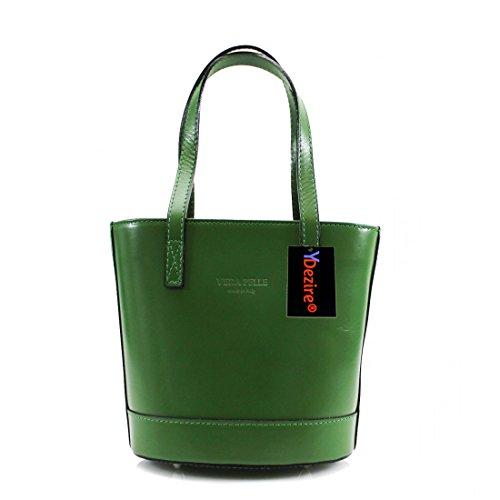 HB Style, Borsa a mano donna Multicolore Beige Green