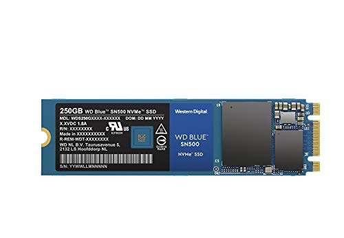 WD Blue SN500 (250 GB)