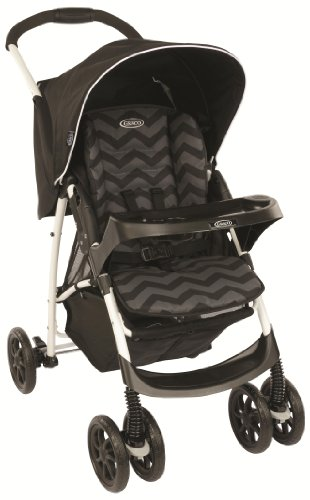 41TgCpK3I4L - BEST BUY #1 Graco Mirage Plus Travel System - Black ZigZag Reviews and price compare uk