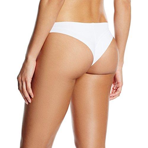Jolidon Slip brésilien invisible Perfect Look - Culotte - Femme Blanc