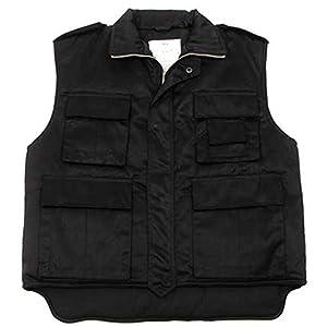 US Quilted Vest for Ranger Black Lining