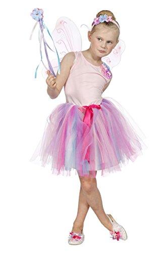 Wilbers Kinder Kostüm rosa Fee Elfe Ballerina Karneval - Rosa Ballerina Kostüm