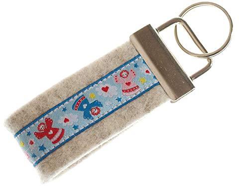 TrachtenBrummsel Mini Schlüsselband Schutzengel