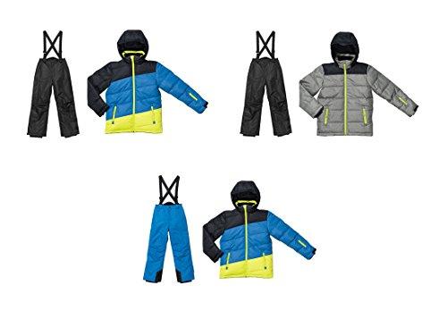 Kleinkinder Skianzug 2 tlg Skianzug Jungen Schneeanzug Winteranzug Wind- und wasserdichtes