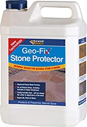 Everbuild EVBGEOSTONE1 Geo-Fix Natural Stone Protector 1 Litre, Clear, 1Ltr