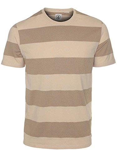 Herren T-Shirt Volcom Marked Crew T-Shirt Natural