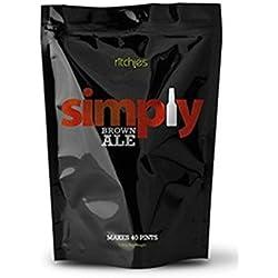 Simply Marrón CERVEZA Kit Cerveza Recarga 1.8kg Makes 23l 40 Pints