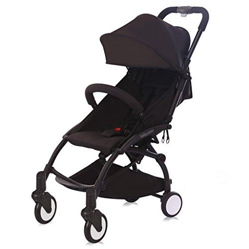 &Baby Kinderwagen Kinderwagen schiebt Regenschirm Auto abnehmbare Armlehnen sitzen legen leichte Faltung