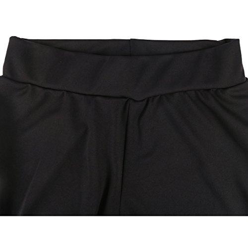 ISASSY - Ensemble sportswear - Décontracté - Uni - Sans Manche - Femme Schwarz