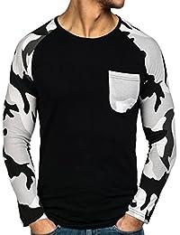 BOLF – Sweat-shirt – Manches longues – U-neck – Longsleeve – Homme [1A1]