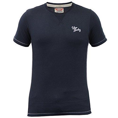 Herren Kurzärmelig T-shirts By Tokyo Laundry Marineblau - 1C7868