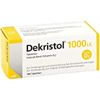 Dekristol 1.000 I.E. Tabletten, 100 St. preisvergleich bei billige-tabletten.eu
