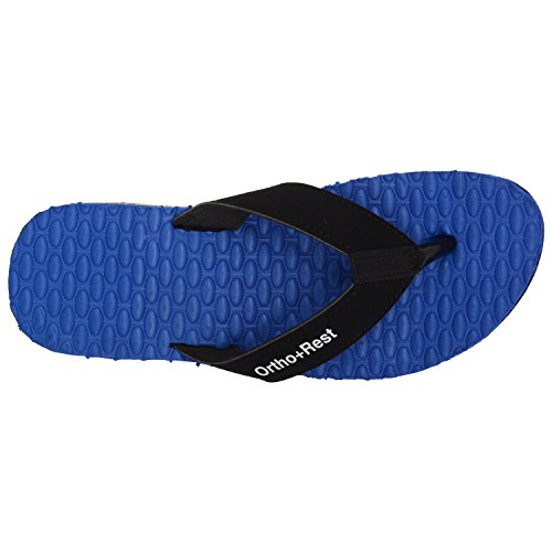 28474184ab0 Buy Ortho + Rest Blue Slippers for Women on Amazon
