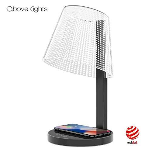 LED Tischlampe, über Lichter 7W Office Dimmable Desk Light mit 10W Wireless -