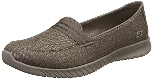 Skechers Women's Wave-Lite by Side Taupe Sneakers