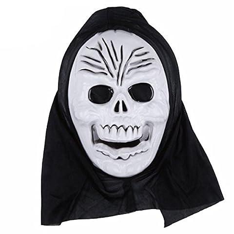 HCFKJ Halloween DrôLe Diversité Masque à Billes Fantaisie (A)