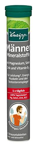 Zink Brausetabletten (Kneipp Männer Mineralstoffe, 2er Pack (2 x 15 Tabletten))