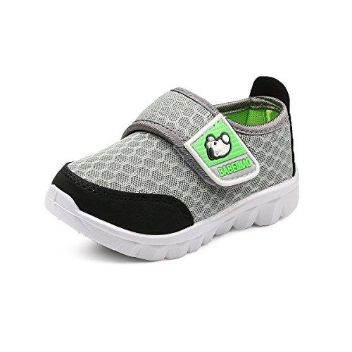 c6e1b66e5f3a6 DADAWEN Mesh Running Sneakers Chaussure pour bébé garçon Fille - Gris(C) 19