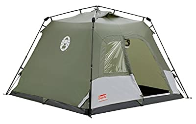 Coleman Water Repellent Instant Tourer Outdoor Pop-up Tent available in Green - 4 Persons from Coleman