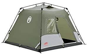 Coleman Water Repellent Instant Tourer Unisex Outdoor Pop-up Tent available in Green - 4 Persons