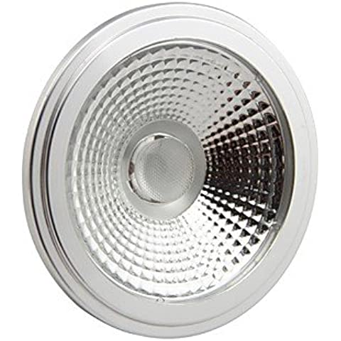 XMQC*Atenuable 111 10W 1000 6000K de LED blanco frío Lámpara Spot Light(100-130 V).
