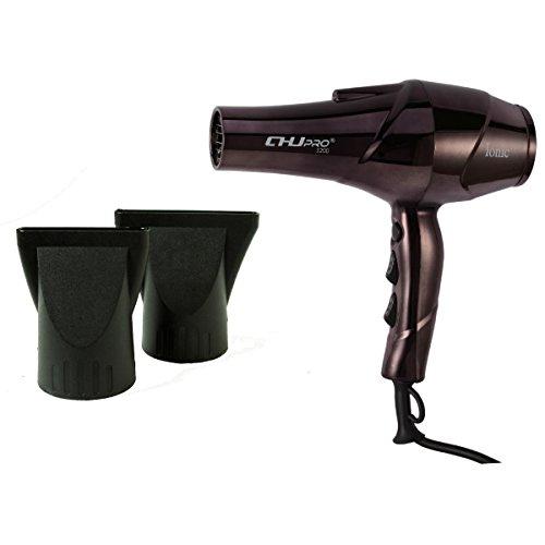 Netzkabel Lange Trockner (Ionen-haardroger CHJPro 2200watt Professionele Ionic Salon Föhn 2Speed 3Heat settings (Bruin))