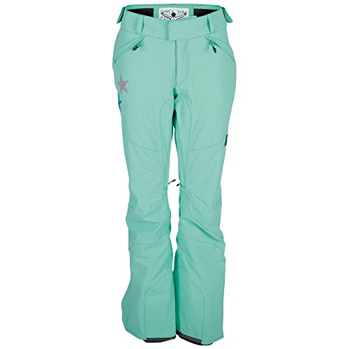 Chiemsee Damen Kizzy 4 Snowpants, Florida Keys, L