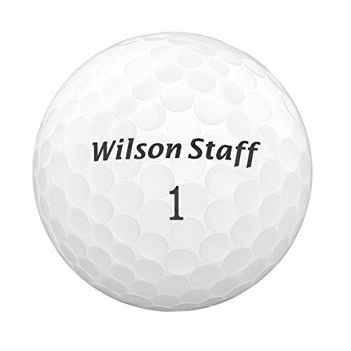 WILSON Staff 2017FG Tour Balles de Golf en uréthane Blanc
