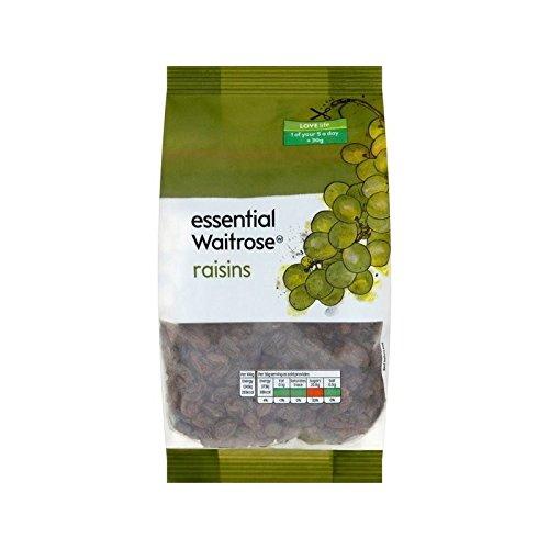 Raisins Secs 500G Waitrose Essentiel