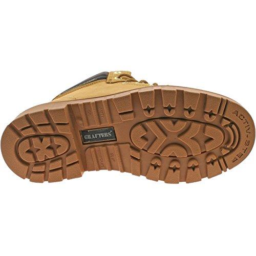 Grafters , Chaussures de sécurité pour homme Beige - Miel