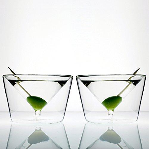Inside-Out-Collection Martiniglas, 2er-Set - (CAM 0004 00 00)