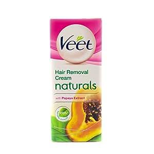 Veet Silk & Fresh Hair Removal Cream, Naturals, Normal to Dry Skin- 25 g
