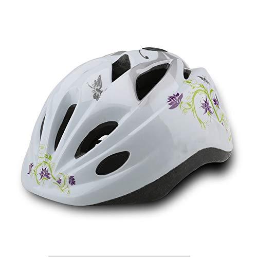 YKKHHCD Beleuchteter Kinderhelm Einteiliger Kinderfahrradkopfschutz Reithelm Mit Beleuchtung - Radfahren Skifahren Rollschuhlaufen,A