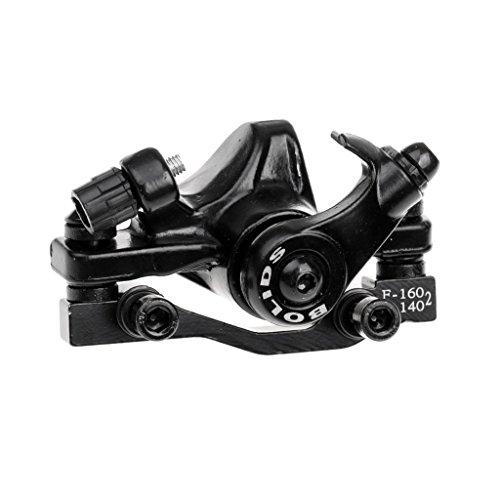 Sharplace MTB Mountain Fahrrad Mechanische Scheibenbremse F160-R140mm -