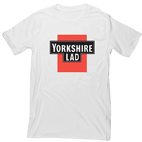 Hippowarehouse Yorkshire Lad Unisex Short Sleeve t-Shirt (Specific Size Guide In Description)