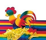 Krepp Papier 50 x 250 cm, verschiedene Farben(regenbogen)