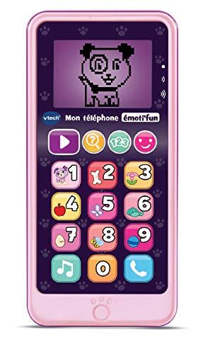 VTech- Telephone EMOTI'FUN Rose Jouets ELECTRONIQUES...