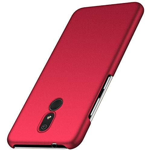 cookaR Hart Hülle für Nokia 3.2, Ultra-Dünn Schlank Matt Handyhülle,Einfache Stoßfeste Kratzfeste Ganzkörper Case Cover Schutzhülle für Nokia 3.2 Smartphone, Rot