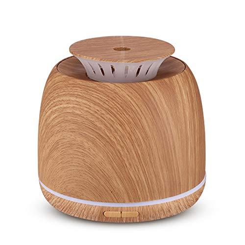 Ultrasónico aromaterapia máquina Aire Incienso lámpara 300ml ultrasónico Aceite Esencial Aerosol dispensador Apto para bebé Sala casa Oficina Dormitorio Sala de Estar Estudio Yoga SPA