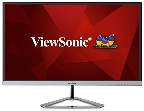 ViewSonic VX2776-SMHD 27-inch Full HD Frameless IPS monitor (Ultra slim bezel VGA HDMI DisplayPort Speakers) - Silver