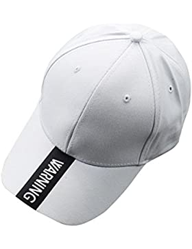 Minetom Unisex Hombre y Mujer Estilo Simple carta Sombrero Bordado Gorra de Béisbol Ajustable Snapback para Deportes...