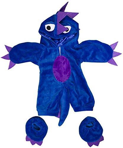 Unter Dem Bett Kostüm Monster - Stuffems Toy Shop Blau / Violett Monster-Kostüm-Teddybär-Kleidung paßt die meist 14